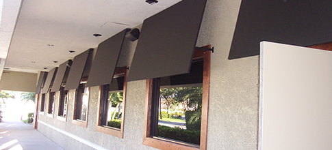Awnings by Coversol | Tampa,FL | Custom Awnings Walkway Covers